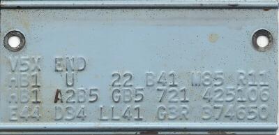 dodge transmission serial number lookup
