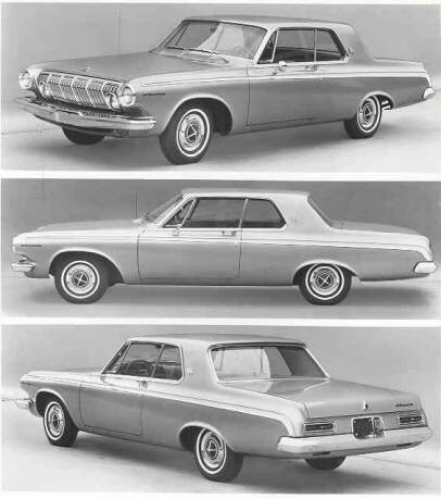 1963 Dodge Ram Charger Max Wedge and Stage II Max Wedge